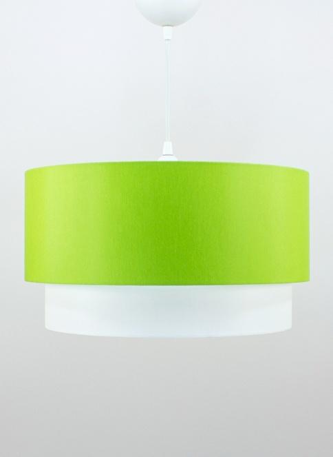 Crea Lighting Doubleshade Large Sarkıt 40cm-3 Ampul Yeşil